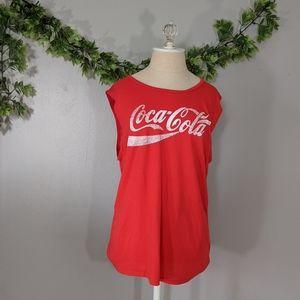 American Eagle Tailgate Coca Cola Tank Top